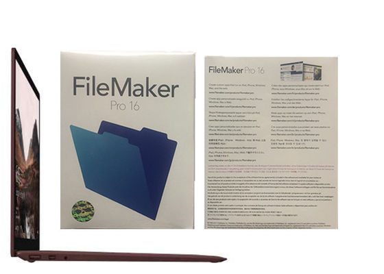 Cina Filemaker Pro Relationships Pro 16 HL2C2ZM / Filemaker Pro Windows pabrik