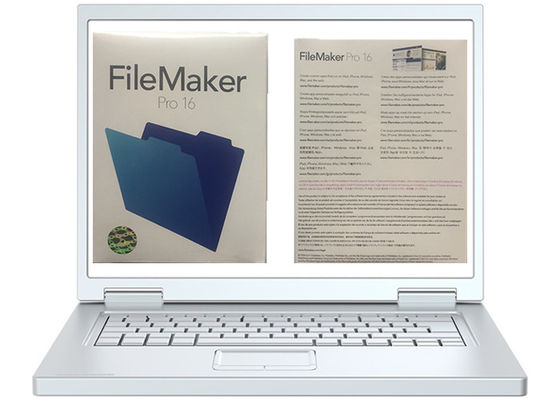 Cina MAC Multi Language FileMaker Pro 16 Paket Kotak Ritel Asli pabrik