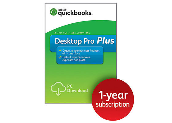 Cina Intuit Small Business Accounting Quickbooks Desktop 2017 Pro Software 3 Pengguna pabrik